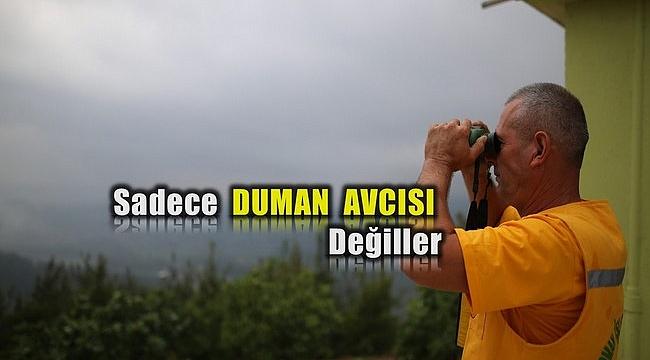 Bursa'da Orman Yangını İhbarların %60'ı Kulelerden Geliyor