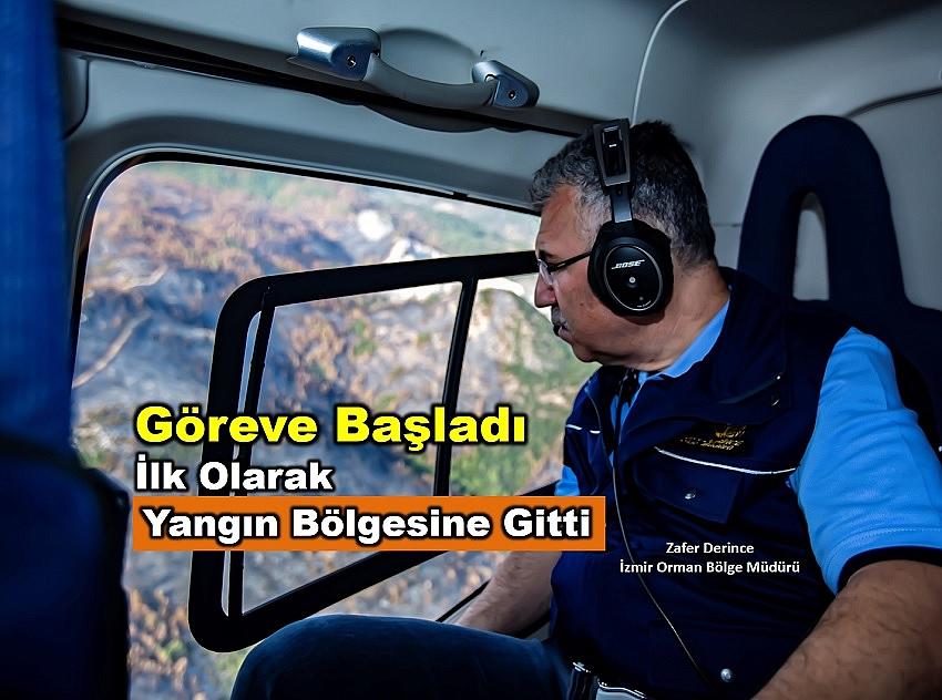 İzmir Orman Bölge Müdürü Derince : Karabağlar Küllerinden Yeniden Doğacak