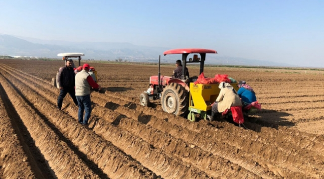 Hayatın devamı için çiftçi üretmeye devam ediyor