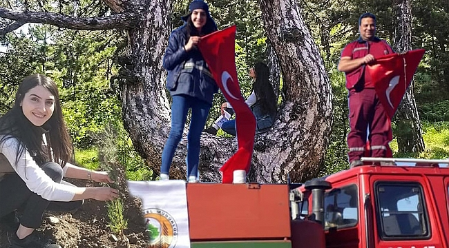 Kadın  Orman Mühendisi