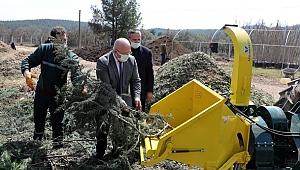 Çevresel atıklar gübreye dönüştürülüyor