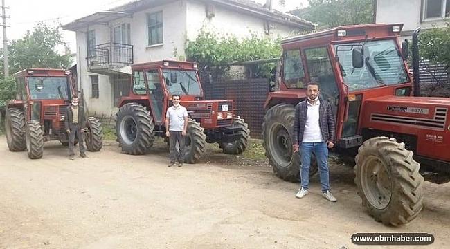 ORKÖY desteğiyle 6 orman köylüsü traktörlerine kavuştu
