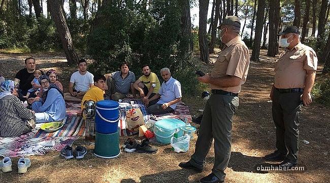 İzmir Ormanlarında Piknik, Mangal Denetimleri Sıkılaştırıldı