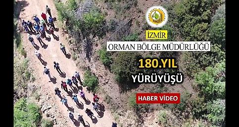 İzmir'de 180.Yıl Doğa Yürüyüşü Haber Videosu