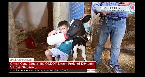 Manisa Davutlar Mahallesinde ORKÖY ile Köylünün Yüzü Gülüyor